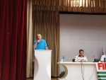 Nieri Luca, Segretario Generale FIM-CISL Bergamo all'Attivo unitario FIM-FIOM-UILM