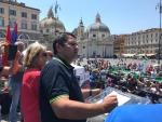 Manifestazione Metalmeccanici Fim, Fiom, Uilm 25 giugno 2020 – Piazza del Popolo Roma